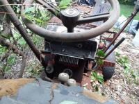 WHEEL HORSE Garden Tractor C-120 8 - Speed Tractor with 42 ft. Blade, Plow, & Wagon, Hydrostatic gears. Not in working order, but good Project Tractor - 9