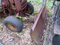 WHEEL HORSE Garden Tractor C-120 8 - Speed Tractor with 42 ft. Blade, Plow, & Wagon, Hydrostatic gears. Not in working order, but good Project Tractor - 20