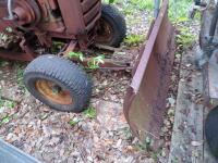 WHEEL HORSE Garden Tractor C-120 8 - Speed Tractor with 42 ft. Blade, Plow, & Wagon, Hydrostatic gears. Not in working order, but good Project Tractor - 21