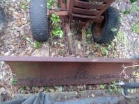 WHEEL HORSE Garden Tractor C-120 8 - Speed Tractor with 42 ft. Blade, Plow, & Wagon, Hydrostatic gears. Not in working order, but good Project Tractor - 22