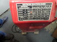 LINCOLN ELECTRIC AC/DC 225/125 Arc Welder - Input Current - 50A Output Current 40-225A AC Net Weight: 96 lbs. DIMENSIONS 24 in x 17.25 in x 12 in - 4
