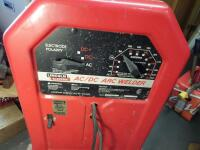 LINCOLN ELECTRIC AC/DC 225/125 Arc Welder - Input Current - 50A Output Current 40-225A AC Net Weight: 96 lbs. DIMENSIONS 24 in x 17.25 in x 12 in - 7