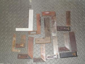 Approx. (8) 4 ft. - 6 ft. English Steel Square