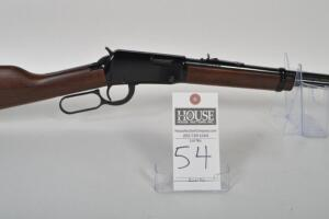 HENRY Model H001 Classic, Lever Action, CAL. .22 S/L/LR., appears unfired, 18.5 inch blued barrel, very nice wood, black receiver, Serial # 673568H