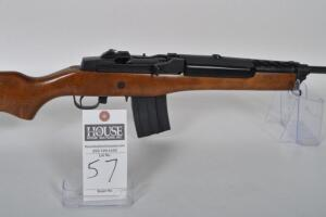 "RUGER ""Mini-14"" Ranch Rifle, CAL. .223, Semi-Auto, 18 inch Blued barrel & receiver, wood stock, lip up sights, Excellent condition Serial # 187-43885"