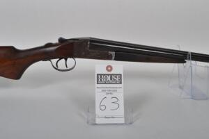 "WESTERN ARMS ""Long Range,"" 20 ga., Side x Side, 26in. Blued barrels, wood stock and forearm, case hardened receiver, Mfd. 1929-1946. Serial # 32962"