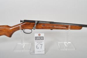 CRESCENT DAVIS ARMS Model 205, 410 ga., single shot bolt action, 26in. Blued barrel, no serial visible, great for beginning hunter, dates circa 1930's