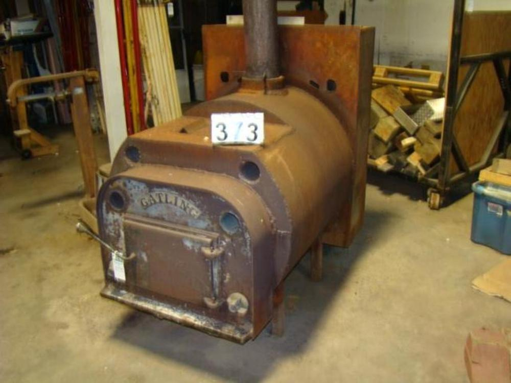 Gatling Wood Burning Stove with Blower - Current price: $425