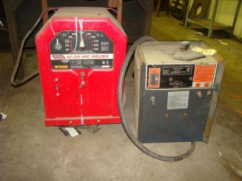Lincoln Electric Ac 225 Arc Welder And Craftsman Dual