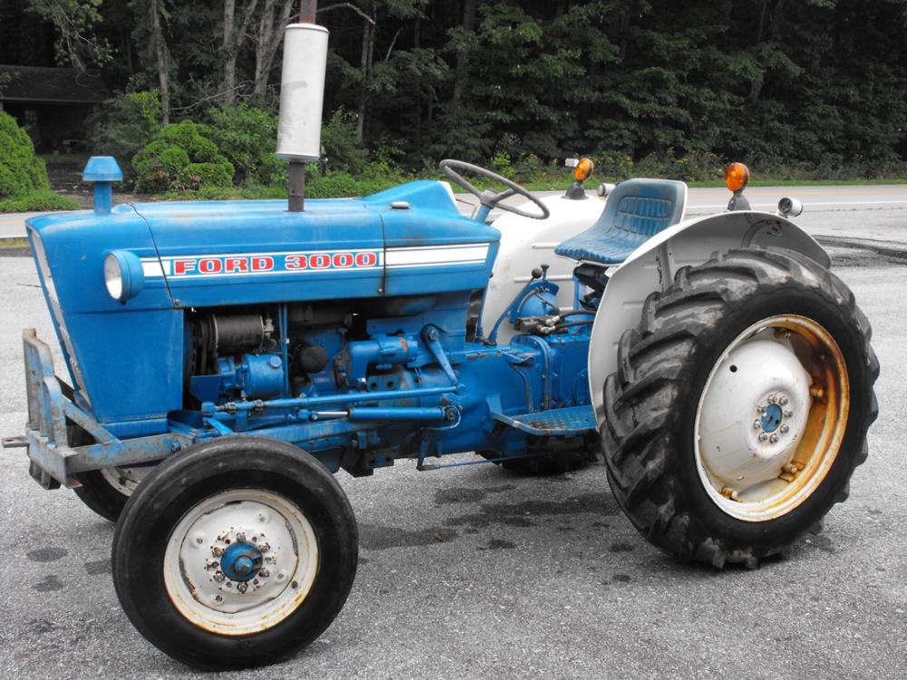 Ford Tractor Company : Ford diesel tractor actual hours power