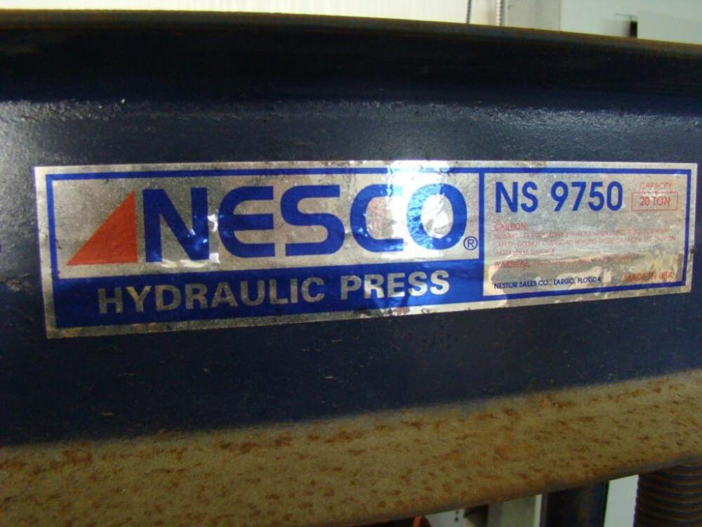 NESCO Hydraulic Press, Model NS9750 - Current price: $210