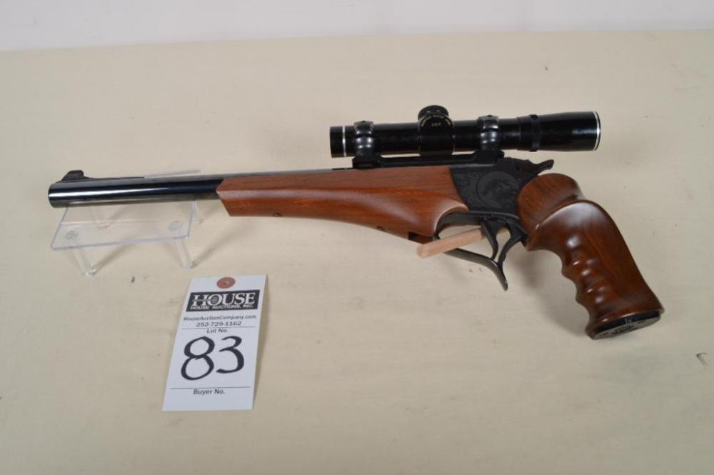 THOMPSON/CENTER ARMS Contender,  44 cal  Magnum single shot