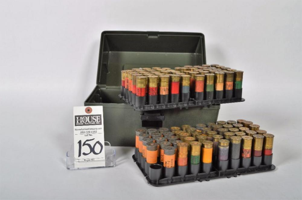 Terrific 100 Round Shotshell Box, Case-Guard, SF-100, with