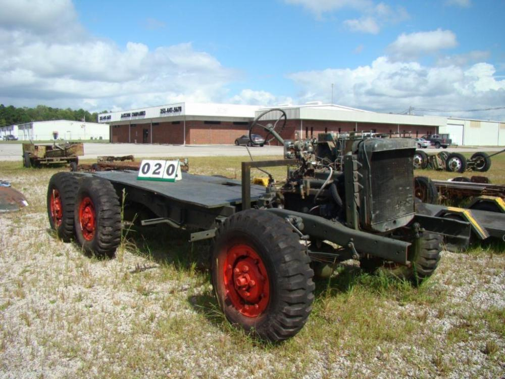 1942 DODGE Model WC-63 6 x 6 Military Vehicle Chassis, Engine, Axles