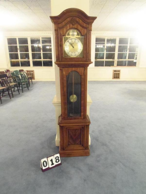 Ridgeway Grandfather Clock - Current price: $110