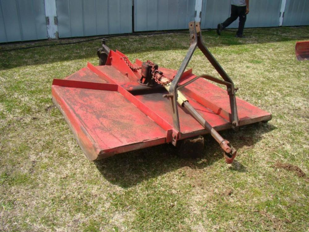 Bush Hog 6 Foot Rotary Cutter 3 Point Hitch Good Condition