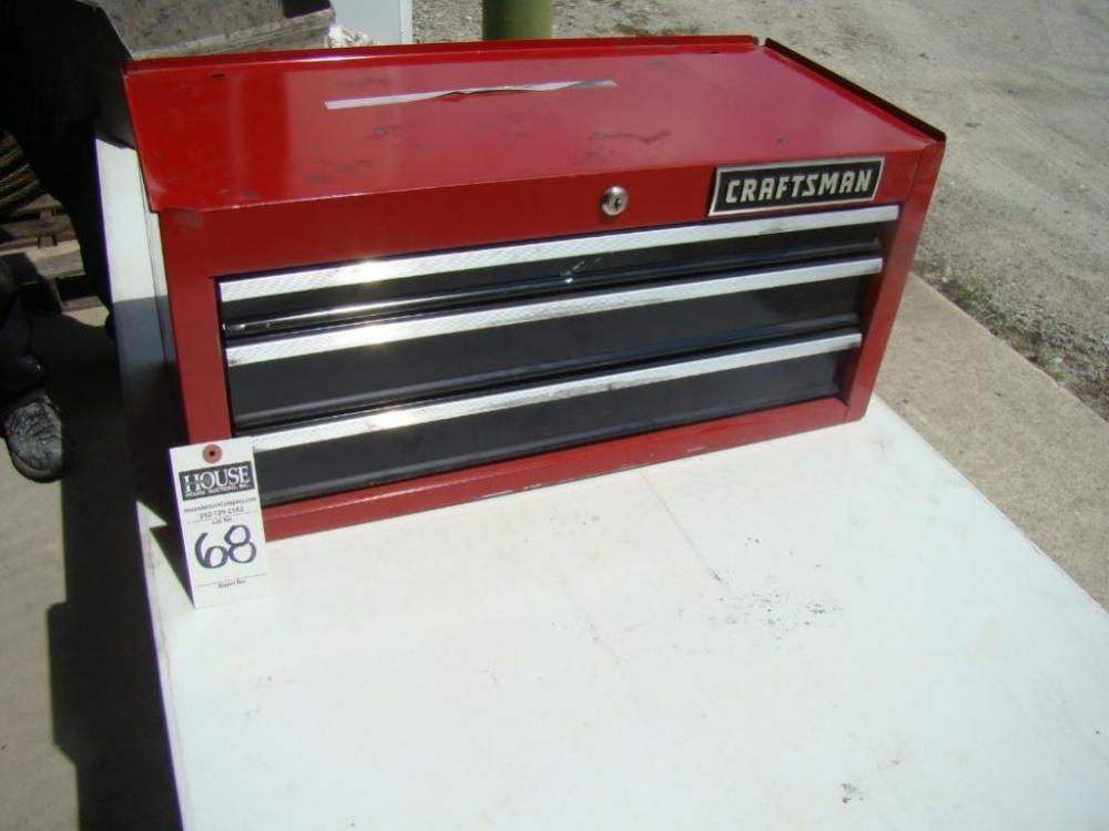 CRAFTSMAN 3-DRAWER TOOL BOX