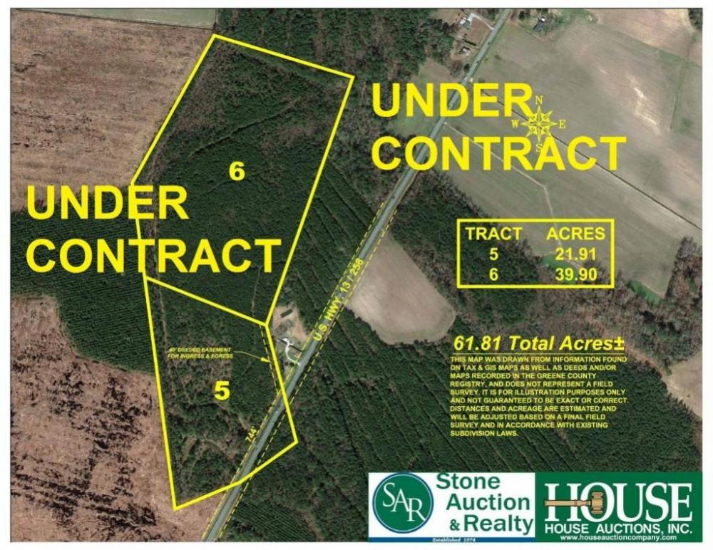 UNDER CONTRACT for PRE AUCTION OFFER. 39.9 +/- Acres - Greene County ...