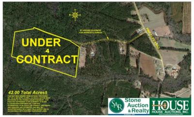 UNDER CONTRACT for PRE AUCTION OFFER. 42 +/-Acres - Craven County, 190 block of Pine Cliff Road, Havelock, NC. Prime Timber & Outstanding Hunting.