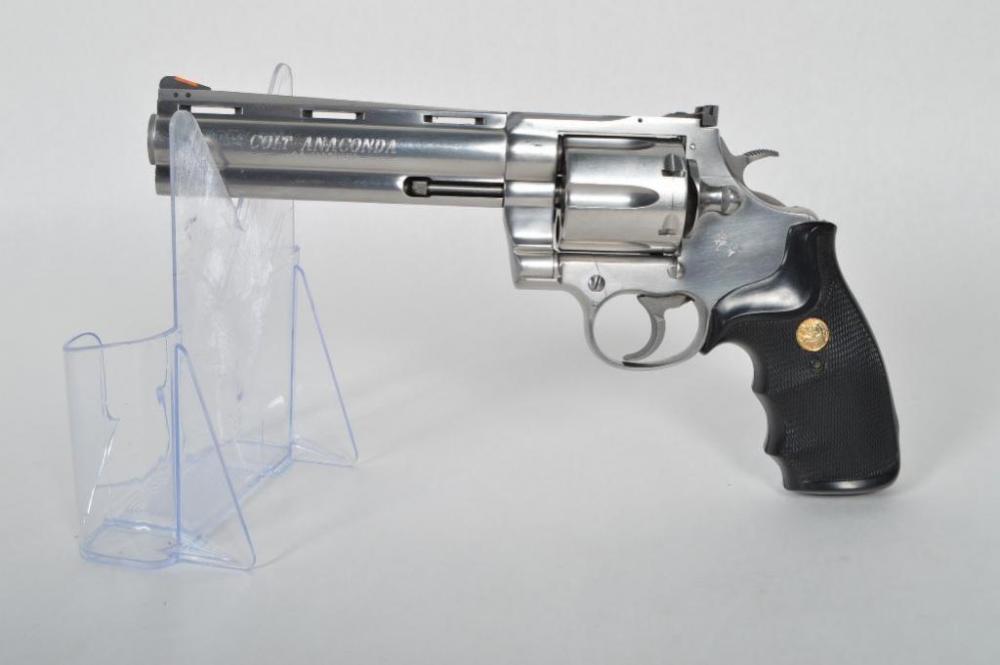 COLT ANACONDA  44 Mag  Revolver, Stainless, 6